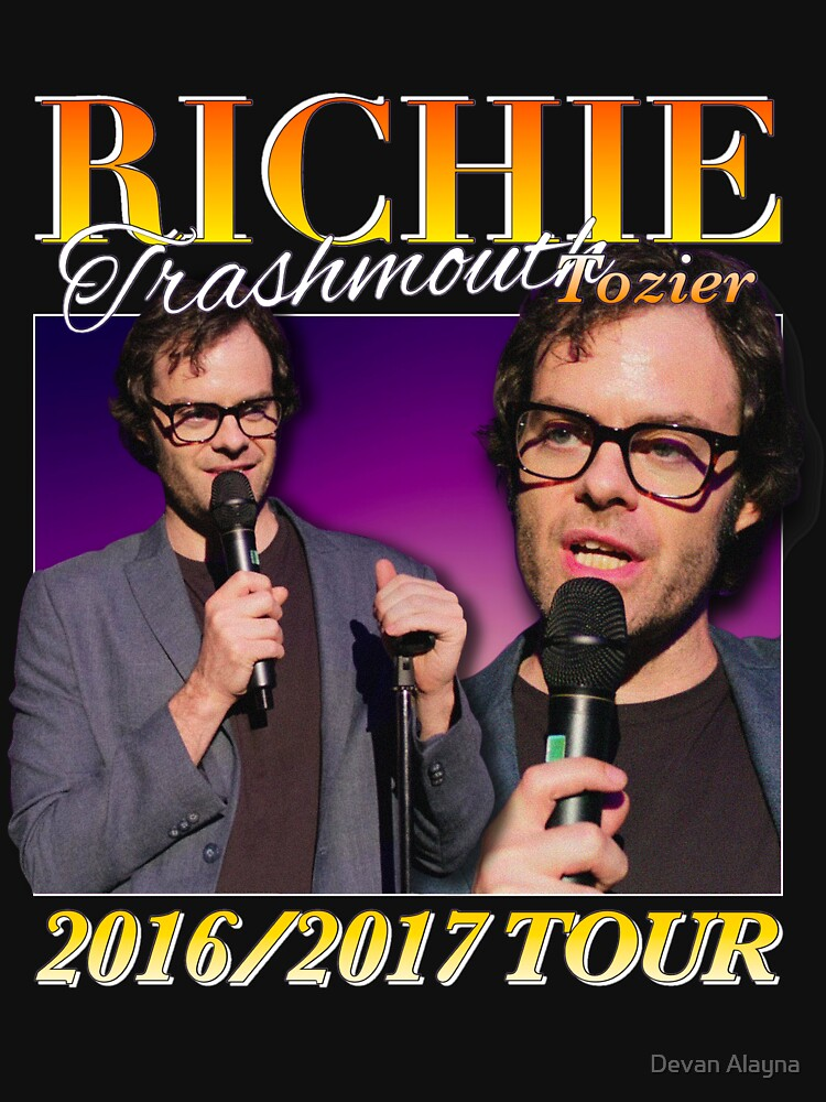 RedBubble: Richie Tozier Comedy Tour Homage Shirt