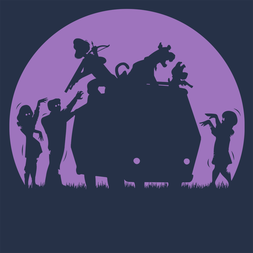 Pop-Up Tee: Zoinks They're Zombies