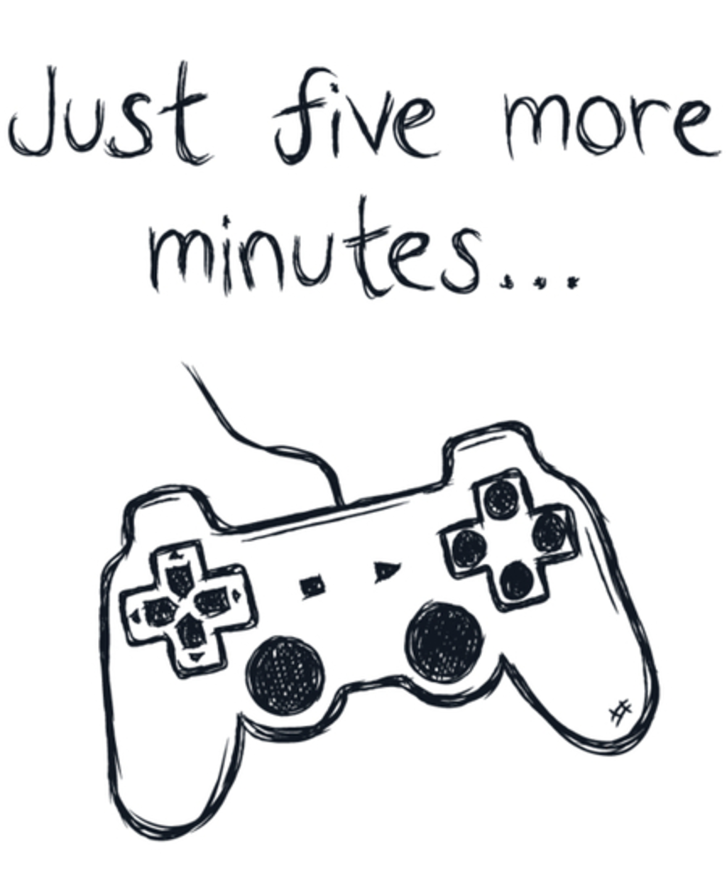 Qwertee: Just five more minutes