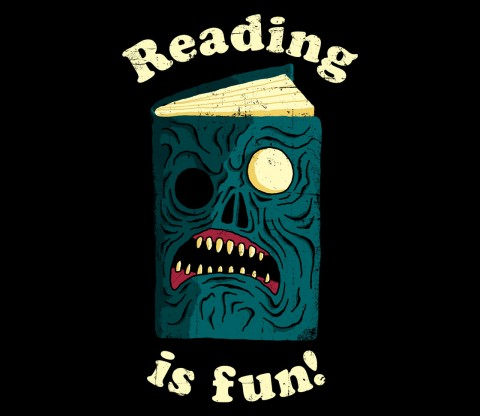 TeeFury: Reading is Fun