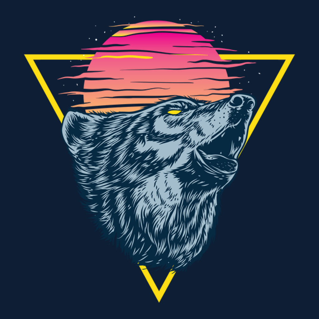 NeatoShop: The Lone Wolf Howls at Sunset