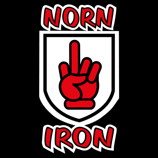 NeatoShop: Norn Iron / Northern Ireland Red Hand of Ulster - Middle Finger
