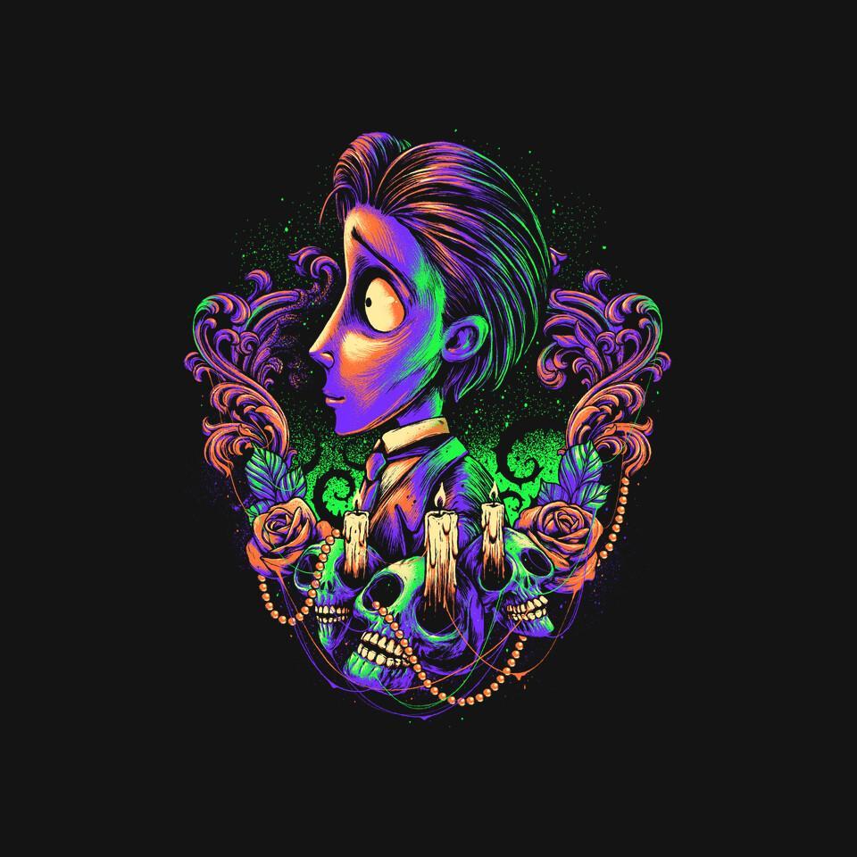TeeFury: Colorful Groom