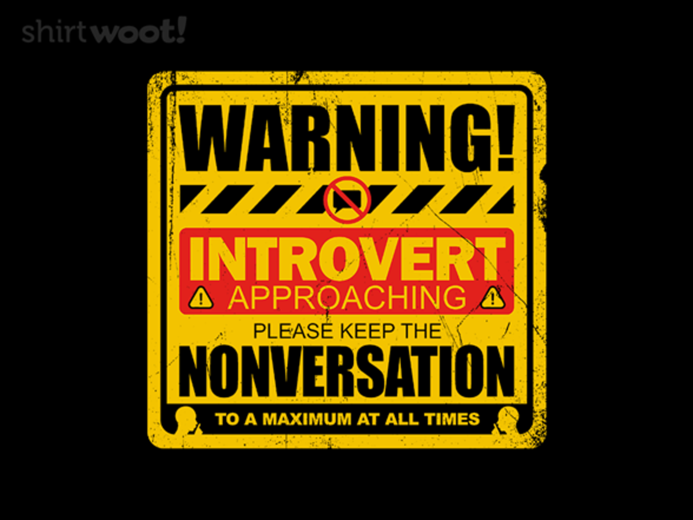 Woot!: Nonversation