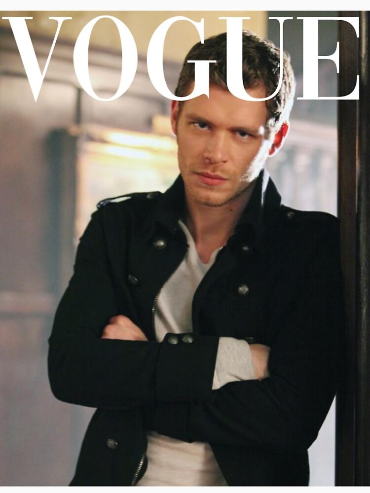 RedBubble: Klaus Mikaelson Vogue
