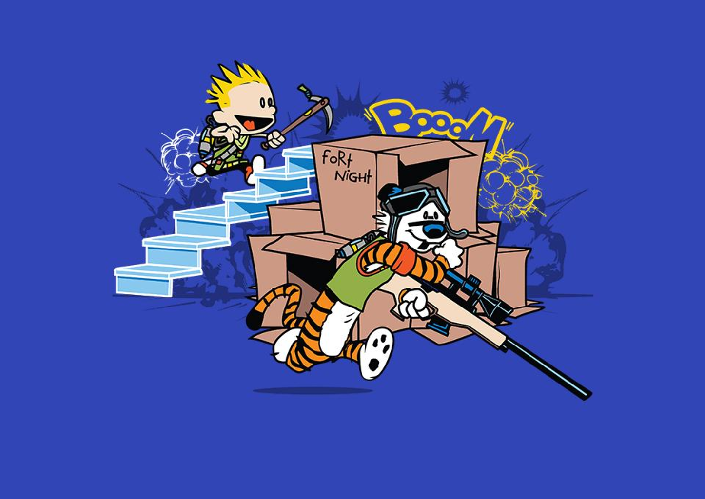 TeeFury: Fort Night