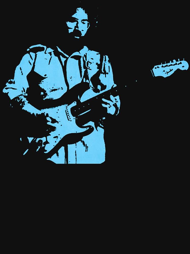 RedBubble: Jerry Garcia in Blue