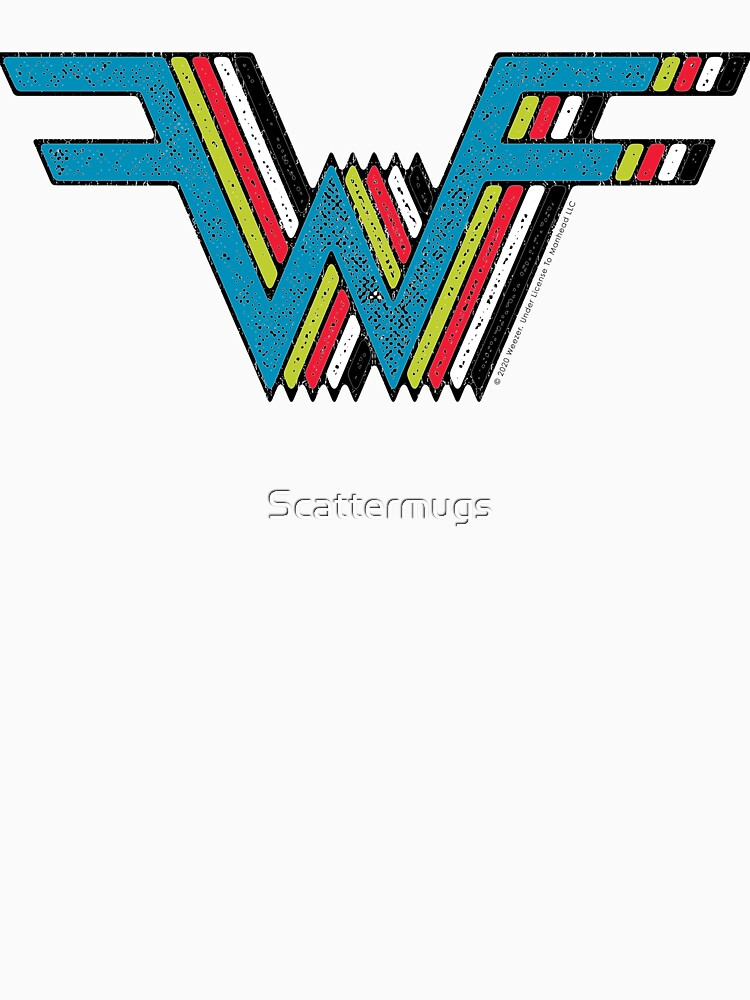 RedBubble: Weezer - The Blue/Green/Red/White/Black Album