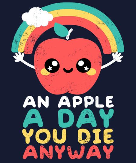 Qwertee: An apple a day
