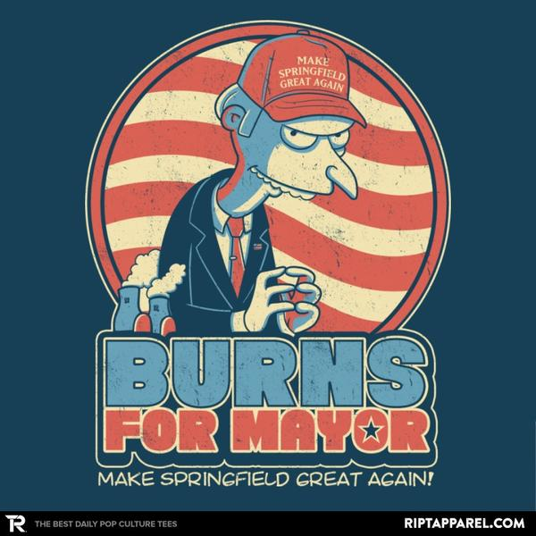 Ript: Burns for Mayor