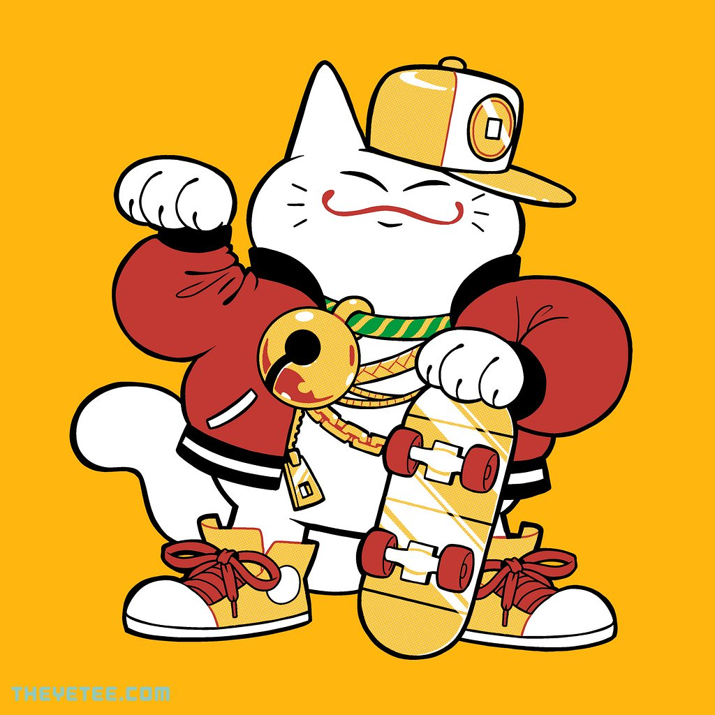 The Yetee: Lucky Cat