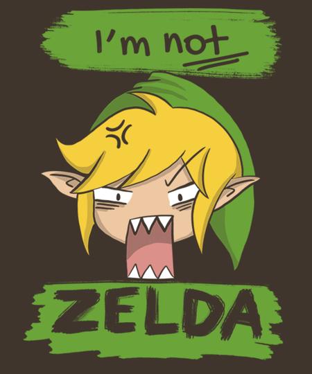 Qwertee: I am not zelda