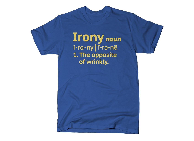 SnorgTees: Irony Definition