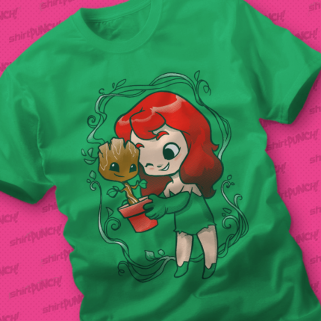 ShirtPunch: Green Friends