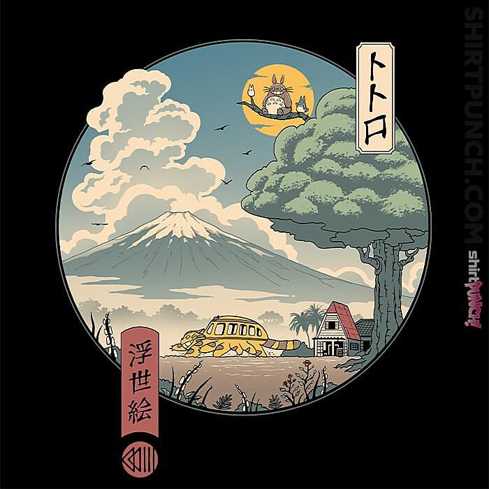 ShirtPunch: Neighbor's Ukiyo-e