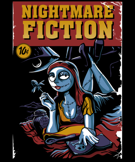 Qwertee: Nightmare Fiction