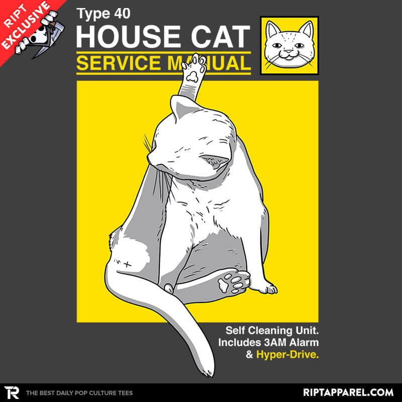 Ript: House Cat Service Manual