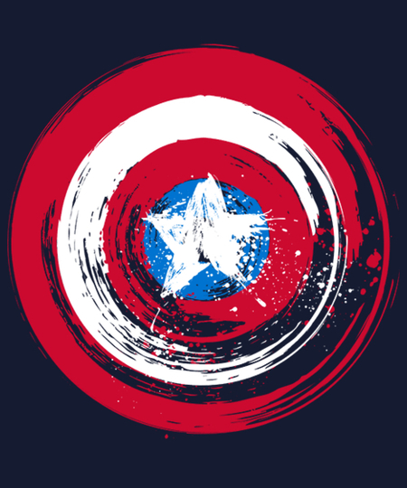 Qwertee: I am the Shield