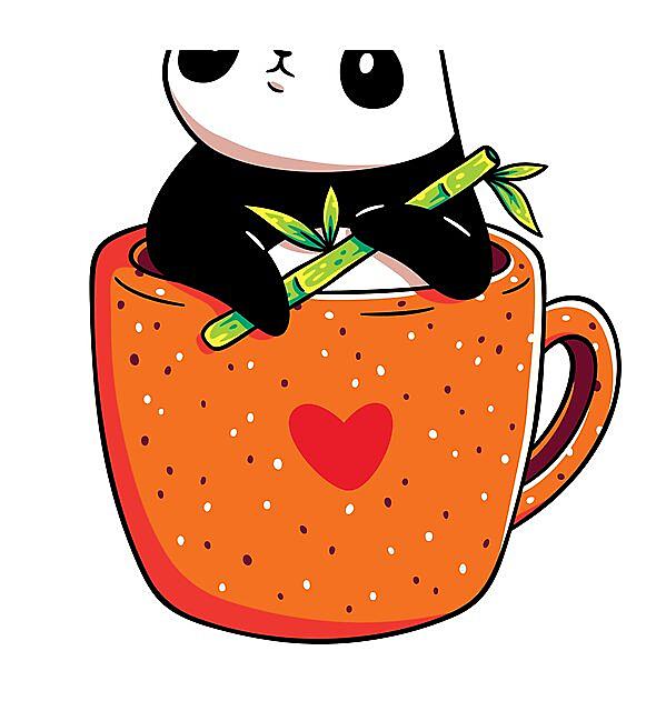 RedBubble: Panda in a Mug