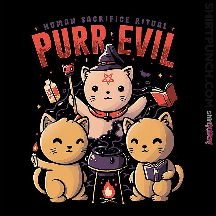 ShirtPunch: Purr Evil