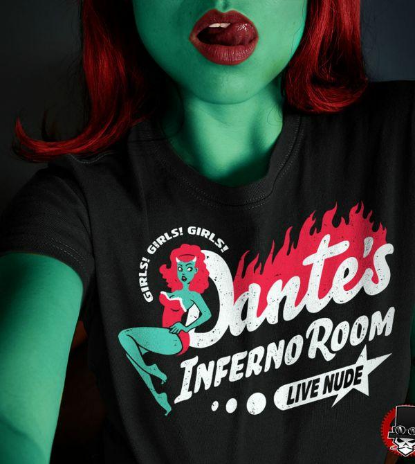 teeVillain: Dantes Inferno Room