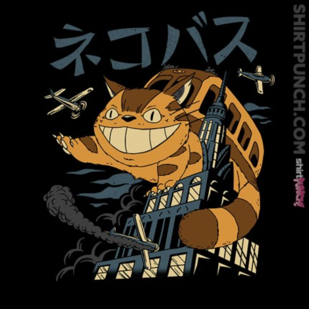 ShirtPunch: Cat Bus Kong