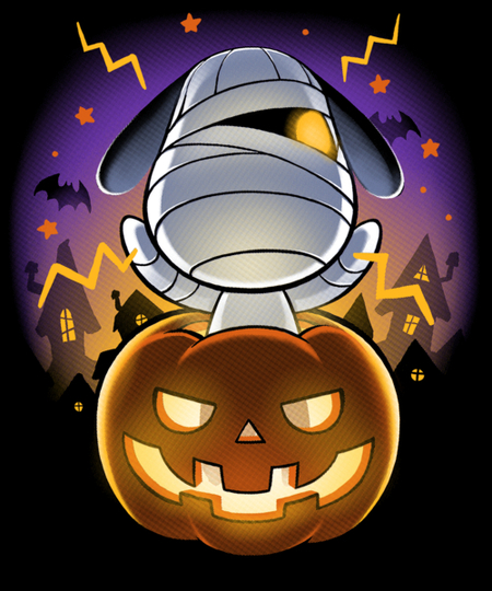 Qwertee: Halloween Island