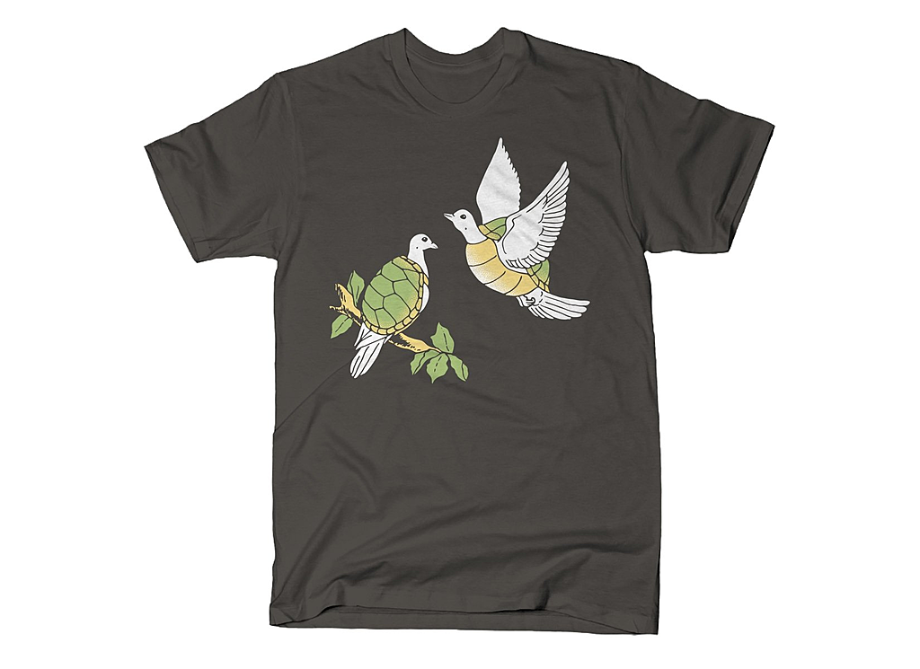 SnorgTees: Two Turtle Doves