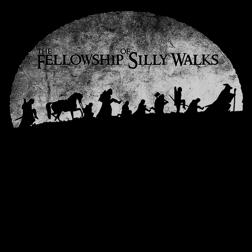 Pop-Up Tee: Fellowship of Silly Walks