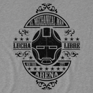 Pop-Up Tee: Lucha Mechanical Man
