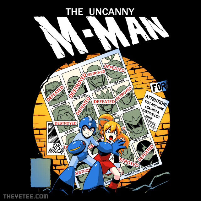 The Yetee: The Uncanny M-Man