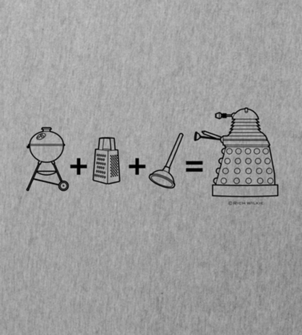 Shirt Battle: Dalek Dr Who
