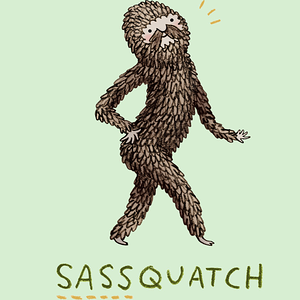 Design by Humans: Sassquatch