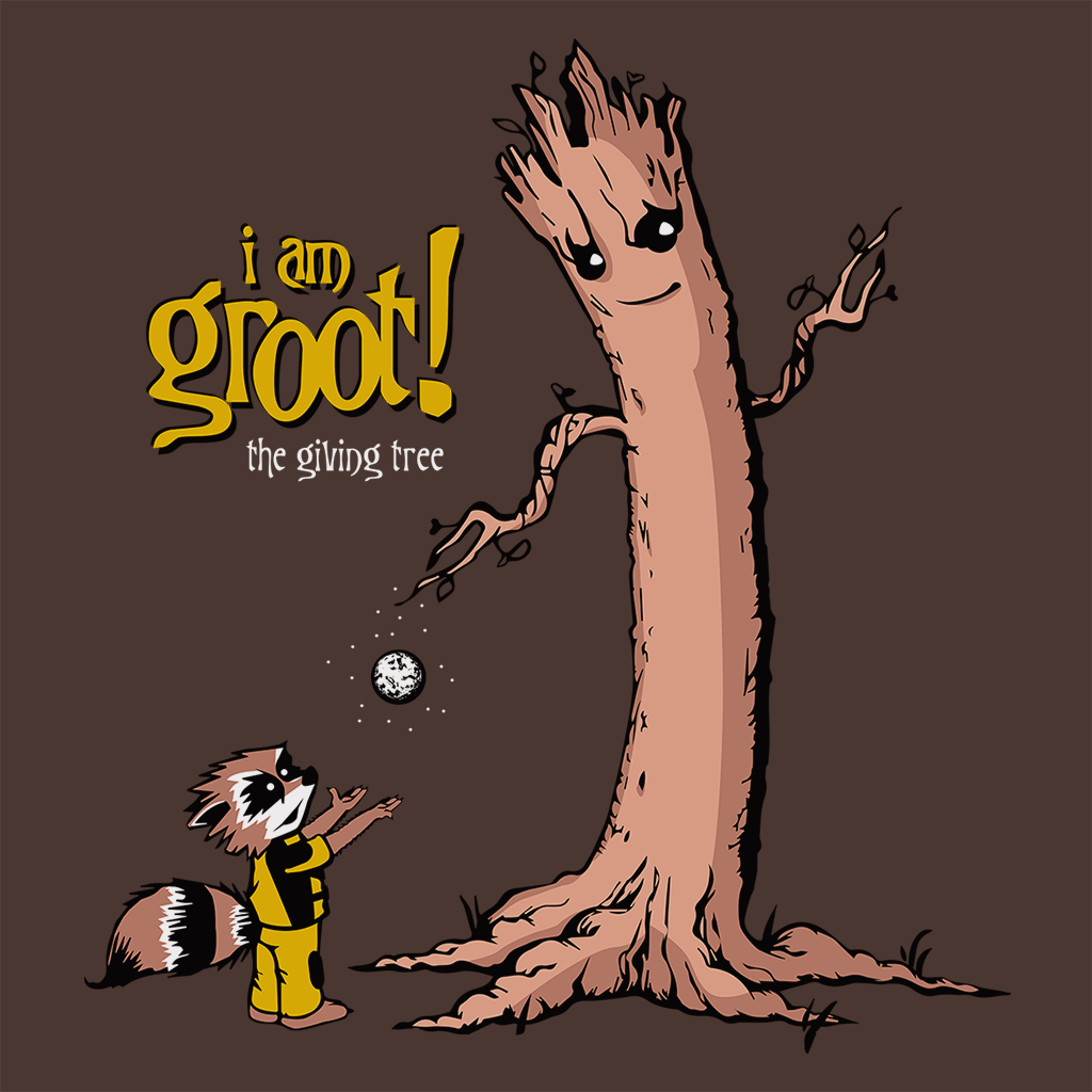 Pop-Up Tee: Groot is Giving