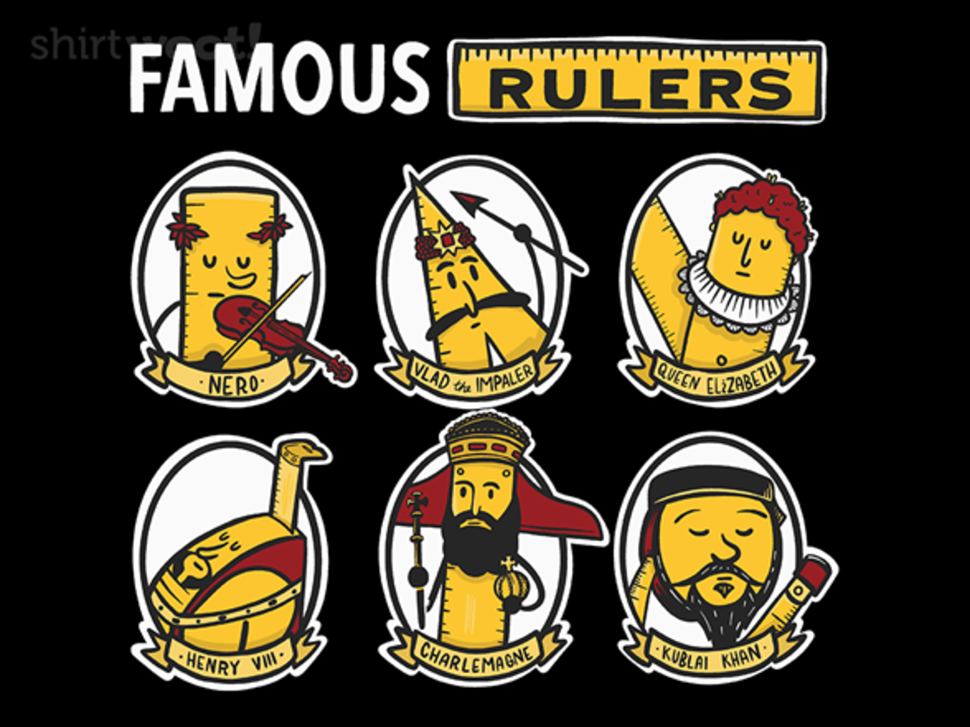 Woot!: Famous Rulers