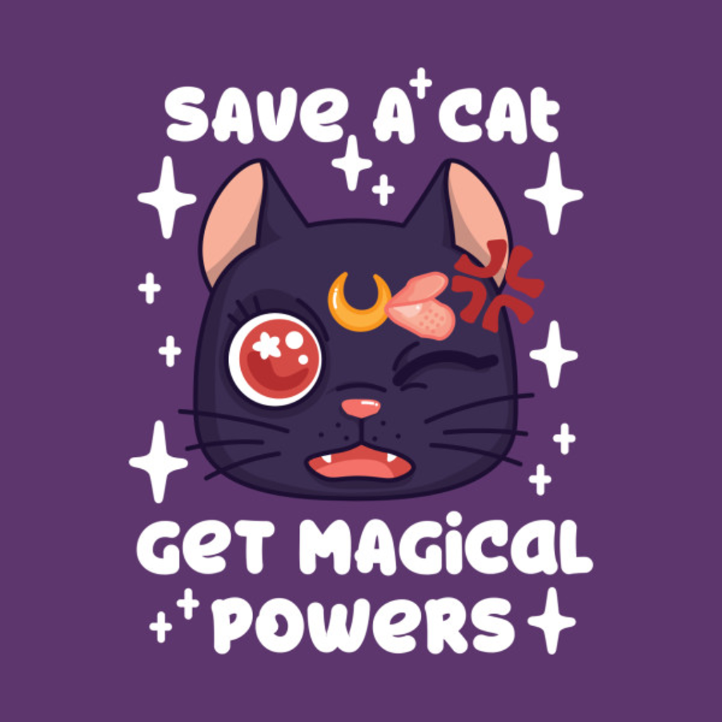 TeePublic: Save a Cat