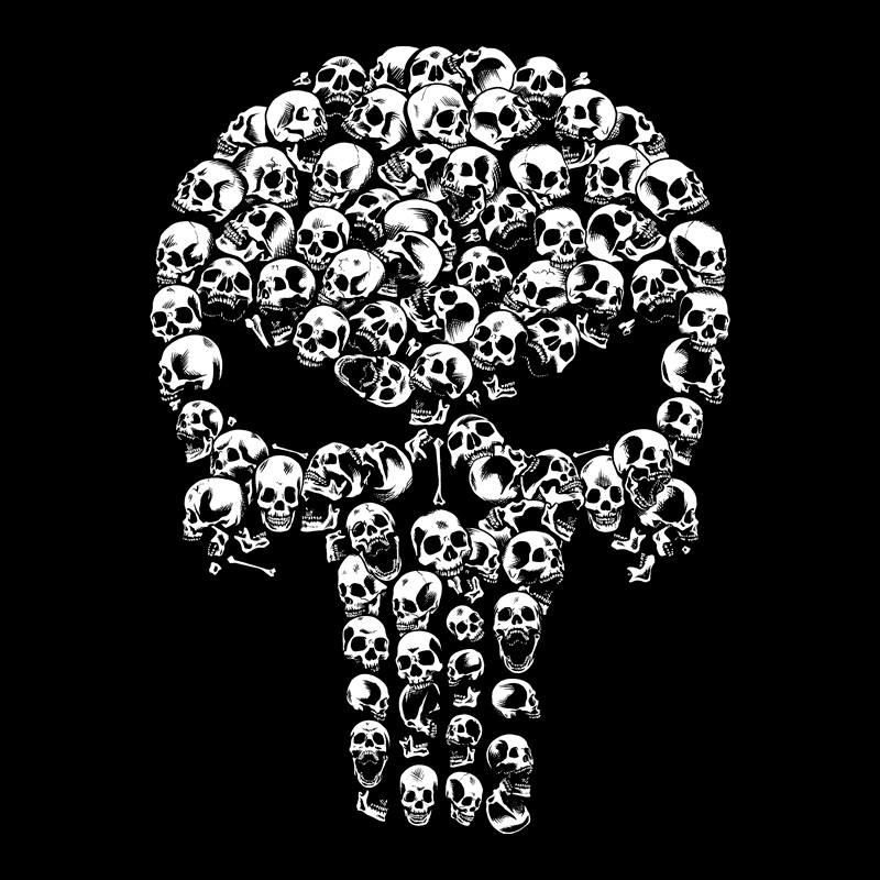 Pampling: Punisher Skulls