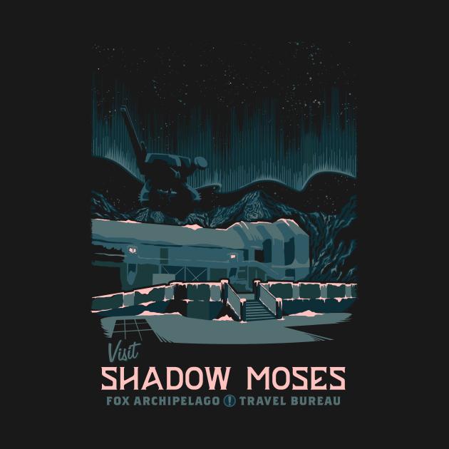 TeePublic: Visit Shadow Moses