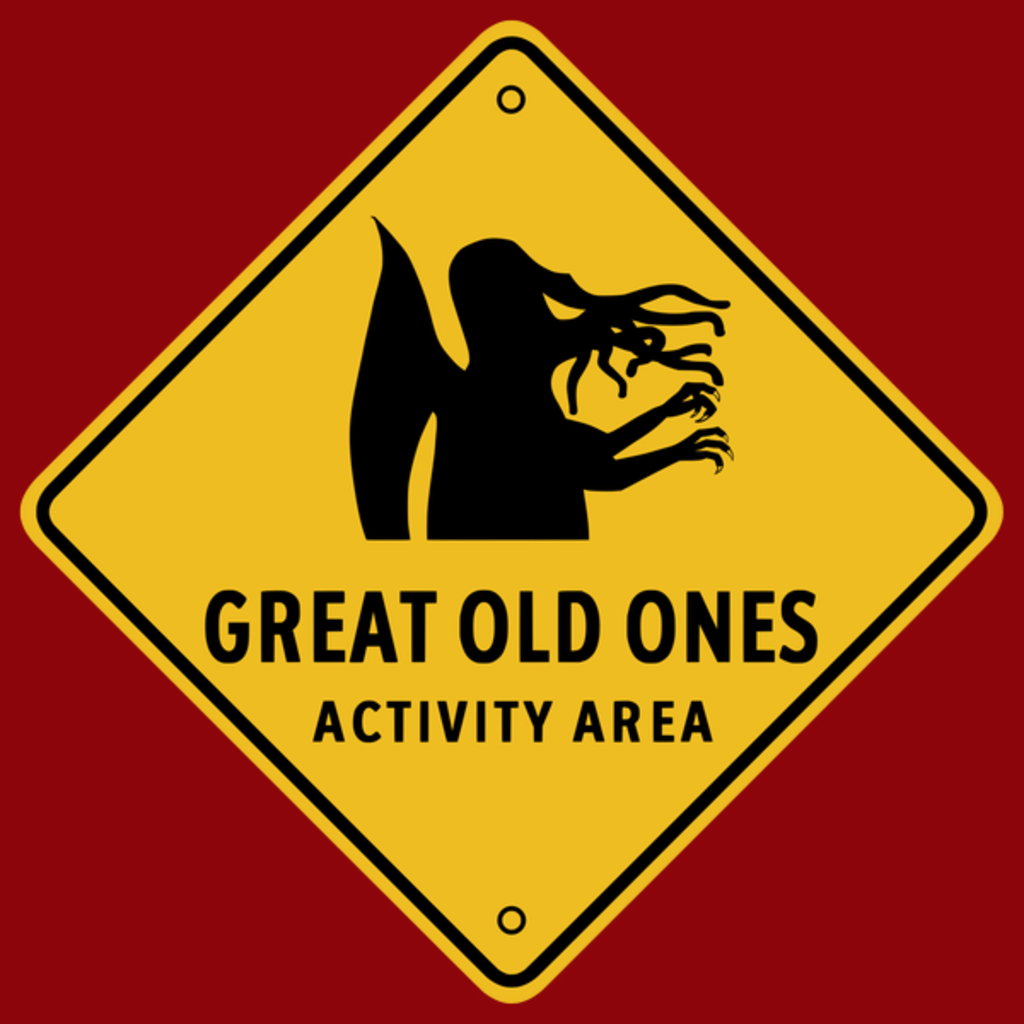 NeatoShop: Traffic Sign - Great Old Ones Activity Area