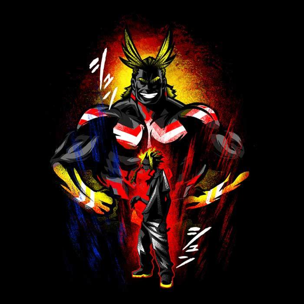 Once Upon a Tee: Attack of All Might