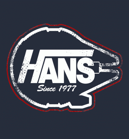 BustedTees: Hans