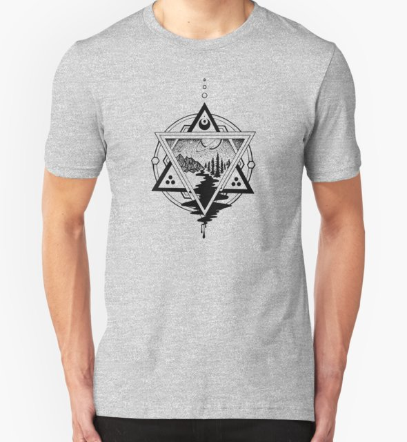 RedBubble: Saturn's Return in Sacred Geometry