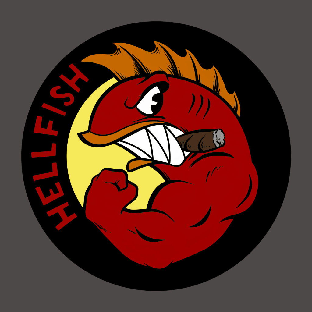 TeeTee: Flying Hellfish