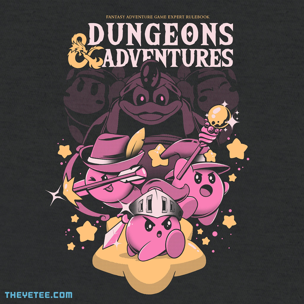 The Yetee: Dungeons and Adventures
