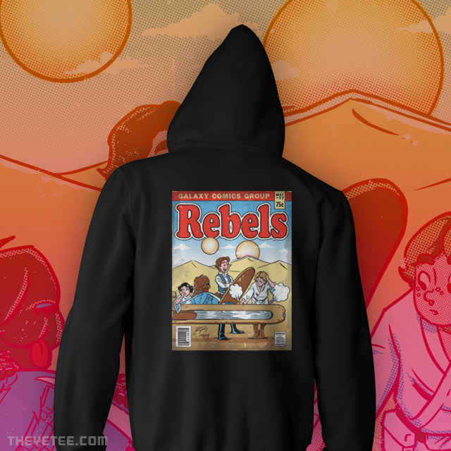 The Yetee: Rebels Zipup