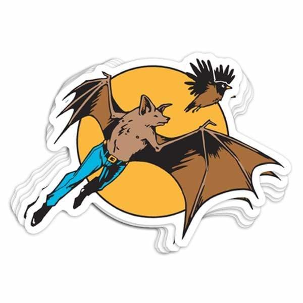 BustedTees: Batman Vinyl Sticker
