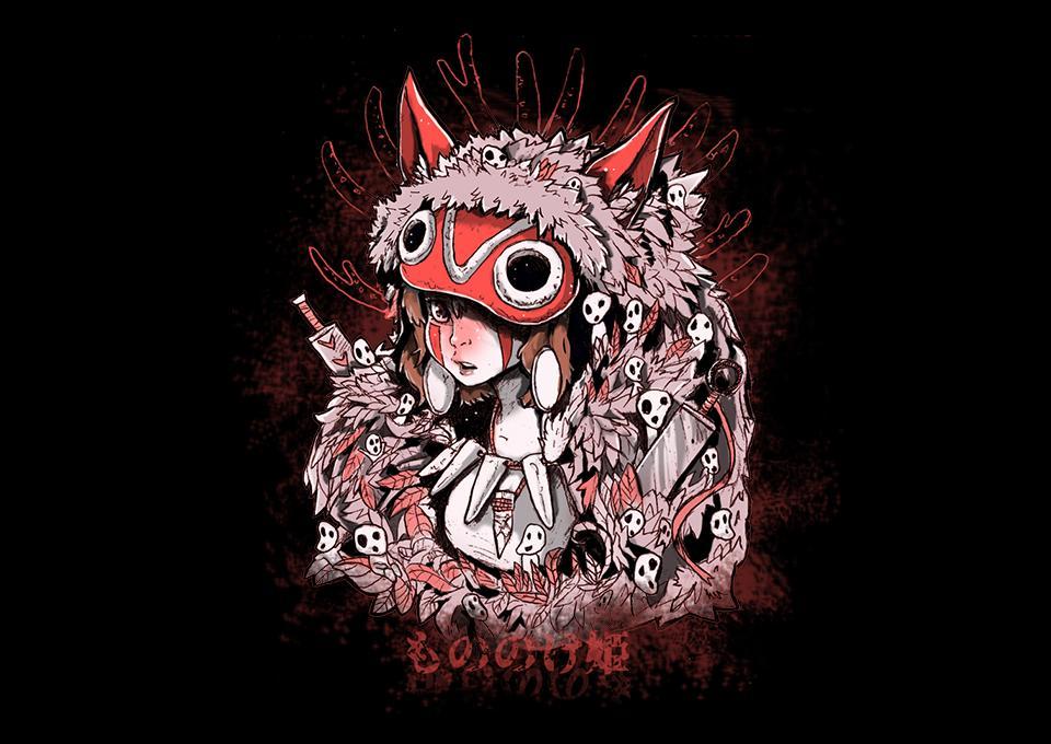 TeeFury: Forest Princess Warrior