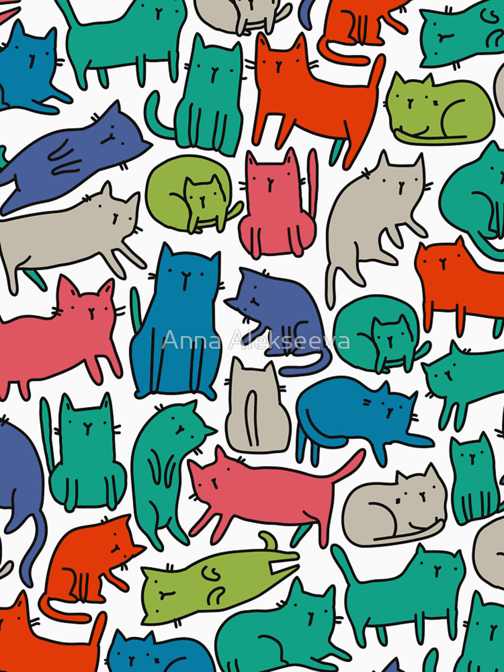 RedBubble: Cool Cats