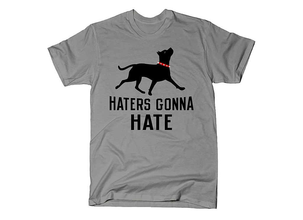 SnorgTees: Haters Gonna Hate Pit