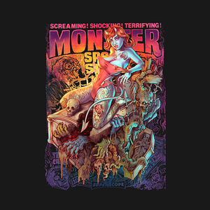 TeePublic: Monster spook show